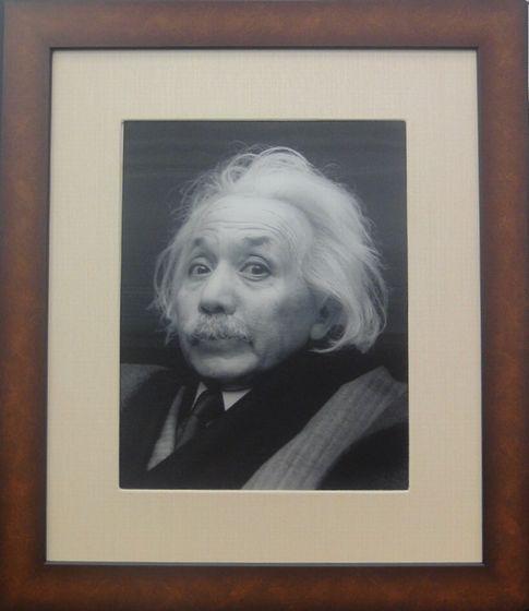 """Doublennage / Einstein"" by Yasumasa Morimura"
