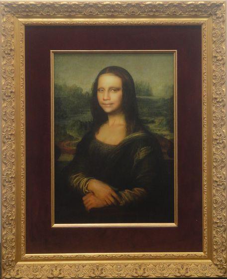"""""""Doublennage / Mona Lisa"""" by Yasumasa Morimura"""