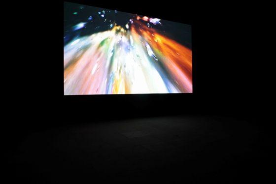 "Exhibition view of ""Ymene: 1. idu mi"" by Masakatsu Takagi video installation, photo by Keizo Kioku"