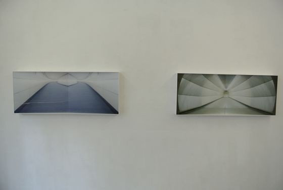 "Kyoko Nagashima ""THERE"" series at gallery 360 degrees."