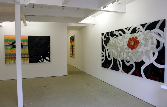 "Exhibition view of Reika Nakayama ""Sleeping diary - to paradise -"" at Mori Yu Gallery"