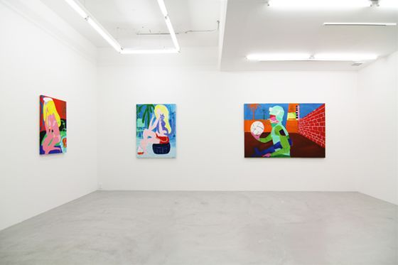 "Todd James ""Yeild to Temptation"" at NANZUKA, 2012"