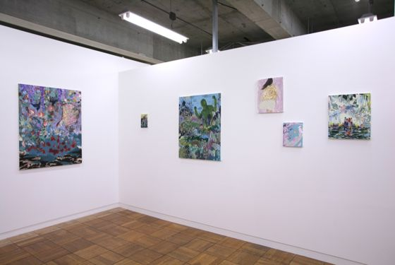 "Exhibit view of ""Empty forest"" at Mori Yu Gallery"