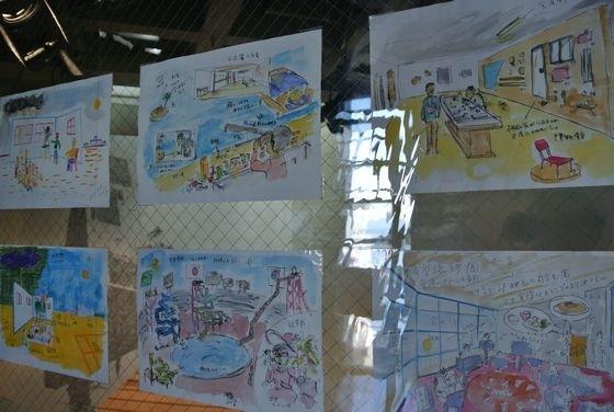 """The dream journal"" by Kyohei Sakaguchi, at ""Practice for a revolution"", Watarium museum"