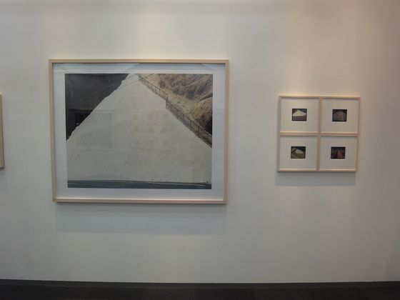 "Exhibition view of ""concrete abstraction"" by Toshio Shibata at BLD gallery"