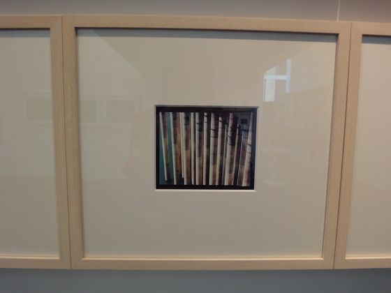 """Artwork at the exhibition """"concrete abstraction"""" by Toshio Shibata, BLD gallery"""