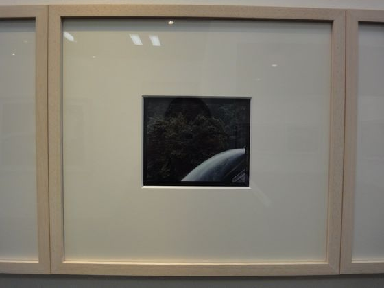 "Artwork at the exhibition ""concrete abstraction"" by Toshio Shibata, BLD gallery"