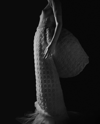 "Gelatin silver print ""Stylized Sculpture 003 (Rei Kawakubo 1995)"" by Hiroshi Sugimoto (2007) Photo: Hara Museum of Contemporary Art"