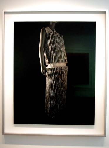 "Gelatin silver print ""Stylized Sculpture 064 (Rei Kawakubo 1998)"" by Hiroshi Sugimoto (2007)"