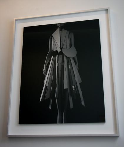 """Gelatin silver print """"Stylized Sculpture 067 (Yohji Yamamoto 1991)"""" by Hiroshi Sugimoto (2007)"""