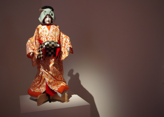 Puppet and Costume from Hiroshi Sugimoto's Sonezaki Shinju (2011)