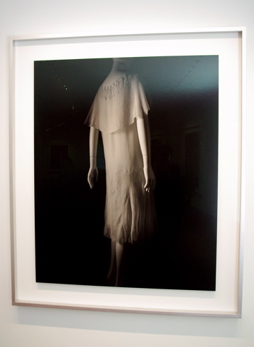 """Gelatin silver print """"Stylized Sculpture 025 (Gabrielle 'Coco' Chanel c. 1926)"""" by Hiroshi Sugimoto (2007)"""