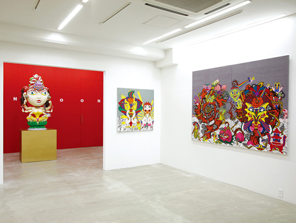 "exhibition view of ""KANNOOON"" at Nanzuka Underground, 2009"