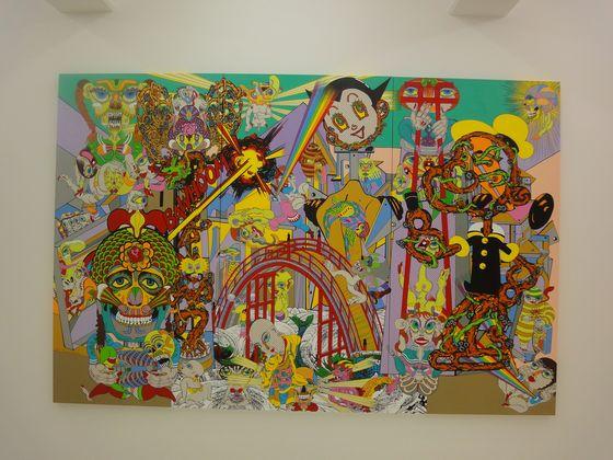 "Exhibition view of ""Dividing Bridge"" at NANZUKA UNDERGROUND, Shirokane, Tokyo."