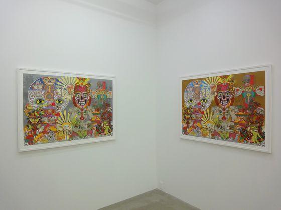 """Exhibition view of """"Lost and Wandering Bridge Series"""" at NANZUKA AGENDA, Shibuya, Tokyo."""