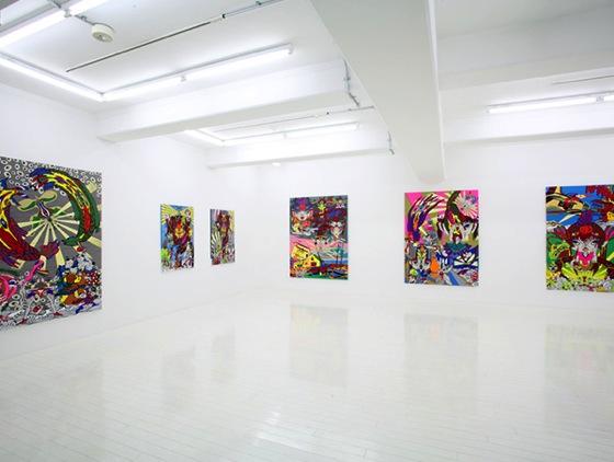 "Keiichi Tanaami ""Kochuten"" 2009 at NANZUKA gallery."