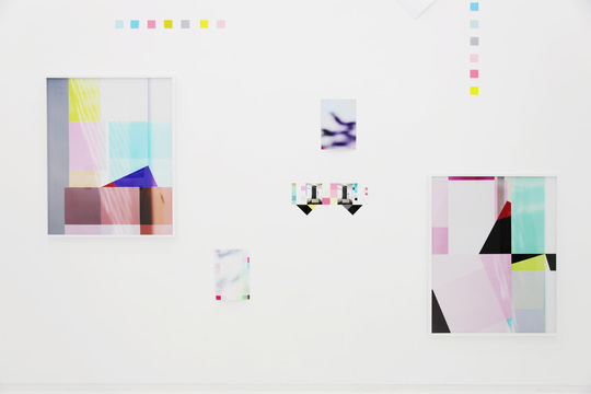 "Exhibitio view of ""Untitled Composition"" at Maki fine arts, 2012"