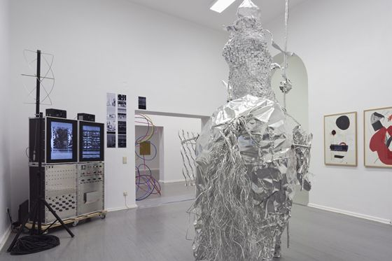 "Exhibition view of ""The ECHO"" 2012 in Berlin"