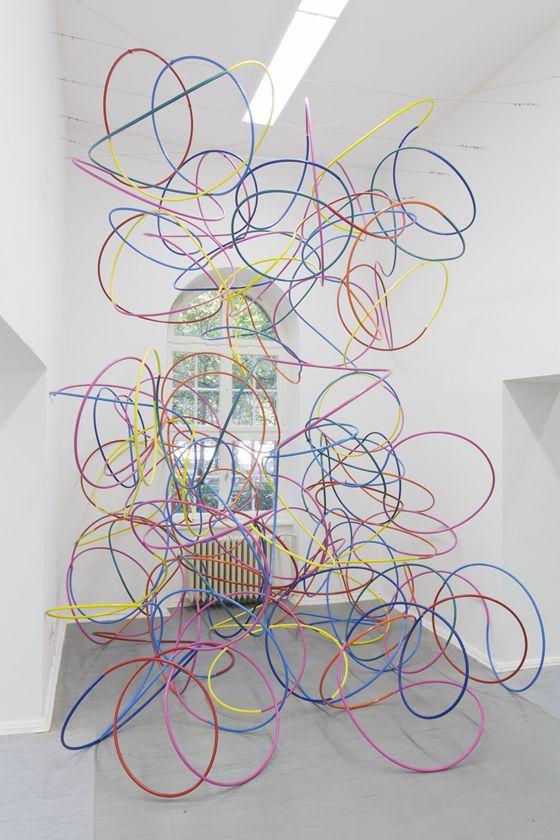"""Kengo Kito """"Untitled (Hula-hoop)"""""""