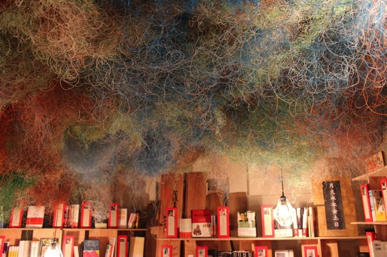 Bookstore by Seigo Matsuoka designed by Kengo Kuma