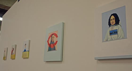 portrait paintings by Hirokazu Tokuyama