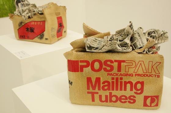 """Kimiyo Mishima """"Box-post mailing tube"""""""