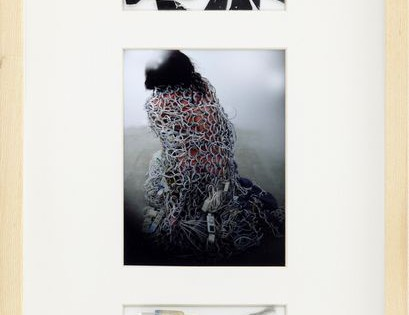 New Arrival: Kosuke Tsumura collaged original artworks and its photo in one frame
