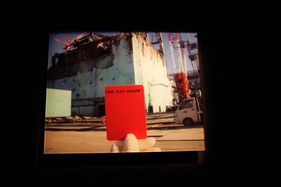 """""""Red Card"""" Chim↑Pom"""