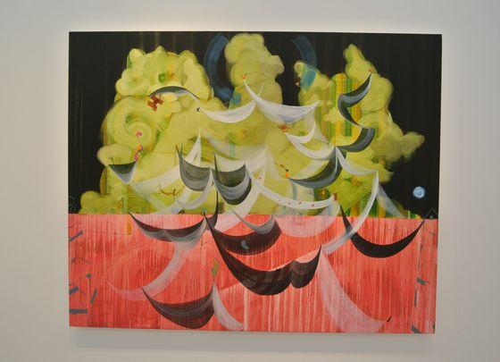 """Painting """"Bo po"""" by Yutaka Watanabe"""