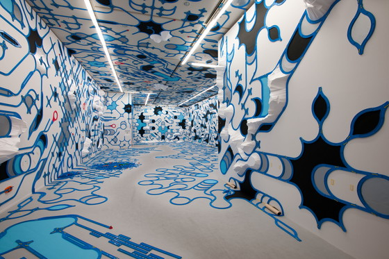 "paramodel ""paramodelic - graffiti"" 2011, Courtesy of the artist, photo: Kazuo Fukunaga"