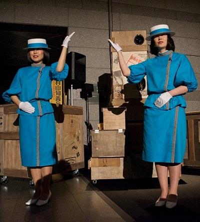 """Miwa Yanagi Theater Project, """"1924 Machine Man"""", Miwa Yanagi, 2012, photo by Kimura Sansei"""