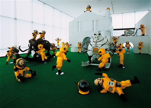 """Kindergarten"" Installation view, 2005"