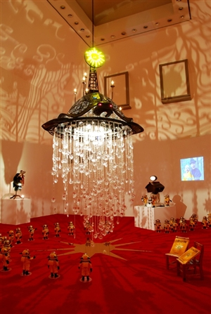 "Installation view of ""Phantasmagoria,"" 2007"