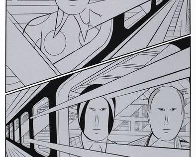 New Arrival: Yuichi Yokoyama Neo-Manga artworks