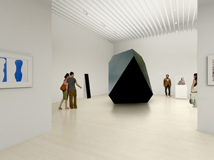 "Mori Art Museum reopens with exhibition ""Simple Forms"""
