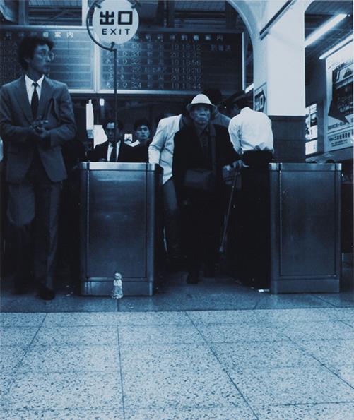 Ozawa Tsuyoshi, Jizoing: Haneda Airport [Tokyo] 1988. Lambda print. 18.2 x 15.3 cm. Collection: Mori Art Museum, Tokyo